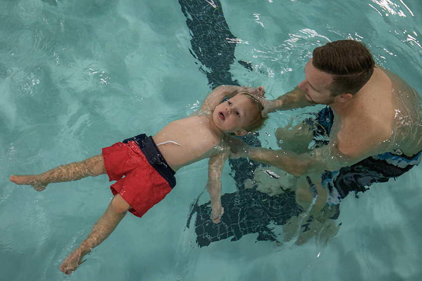 Myths About Infant and Baby Swimming Lessons