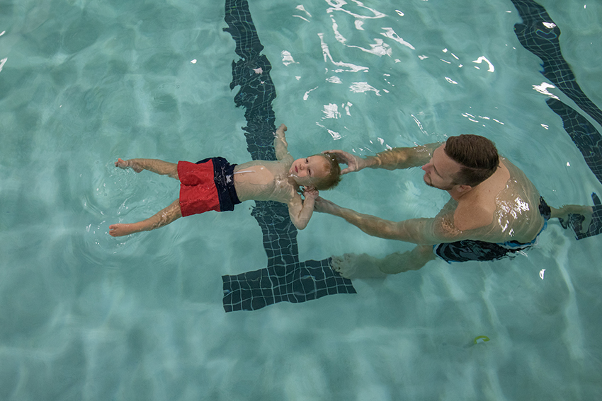 Head Position with Swimming Lessons
