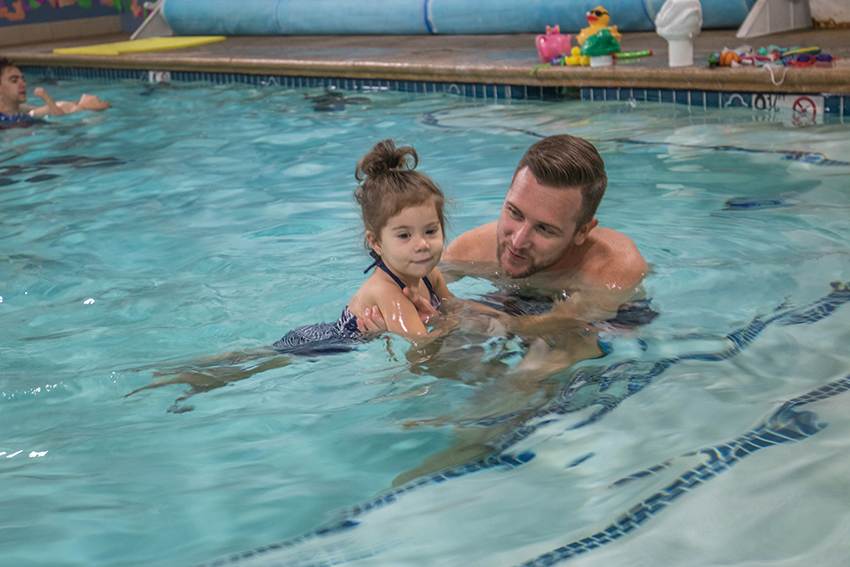 Babies and Swimming Instincts